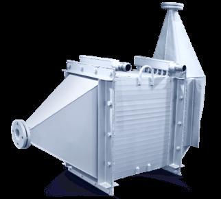 Теплообменники газ-жидкость промышленные
