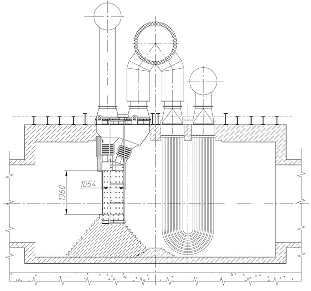 Рекуператор металлургической печи